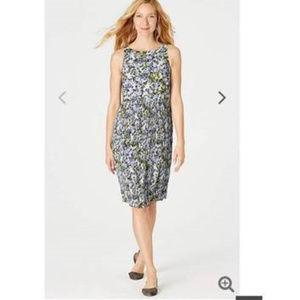 NWT J. Jill Granit Sleeveless Midi Dress